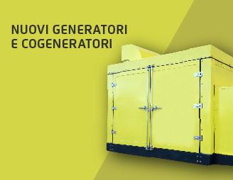 Nuovi Generatori e Cogeneratori
